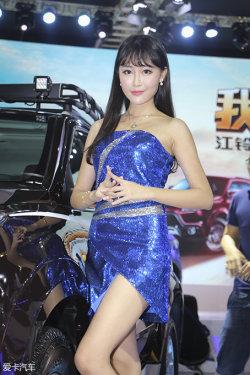 广州车展江铃车模