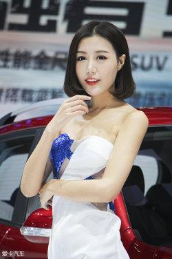 广州车展长安汽车车模