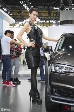 广州车展奥迪车模