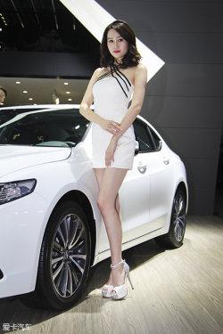 广州车展讴歌车模