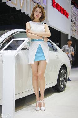 广州车展雪铁龙车模
