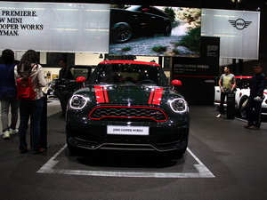 上海车展MINI JCW COUNTRYMAN