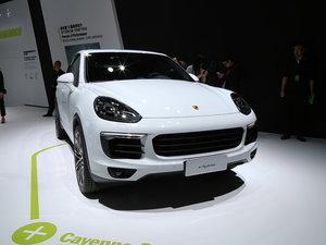 上海车展Cayenne S E-Hybrid