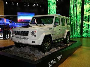 上海车展北京BJ80 PHEV