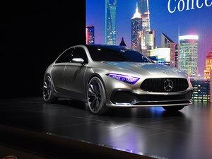上海车展Concept A Sedan