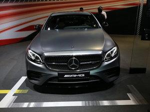 上海车展奔驰E级AMG