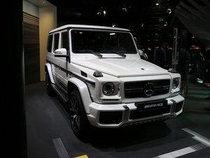上海车展奔驰G级AMG