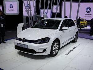 上海车展e-Golf