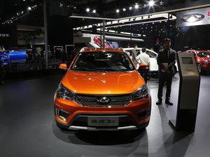 上海车展瑞虎3x