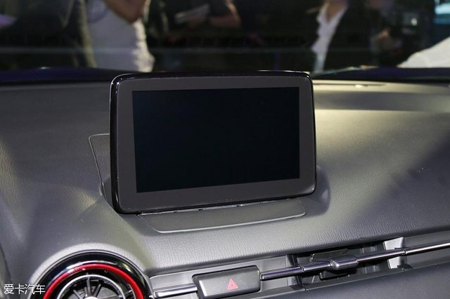 2017上海车展;静评;实拍;马自达CX-3