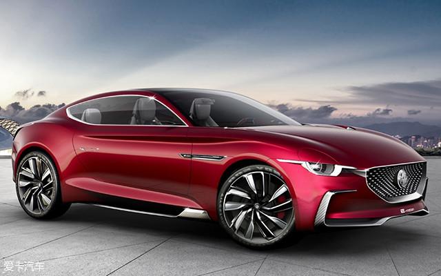 MG名爵全新电动超跑概念车——MG E-motion Concept在今天的上海车展全球首发。新车基于上汽全新的纯电动模块化架构平台打造。