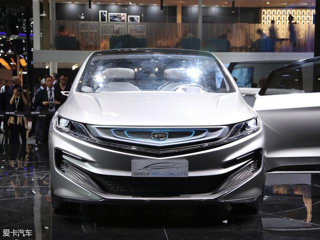 2017上海车展;吉利MPV概念车静态评测