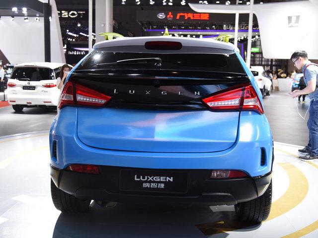 2017上海车展;静评;实拍;纳智捷小型SUV
