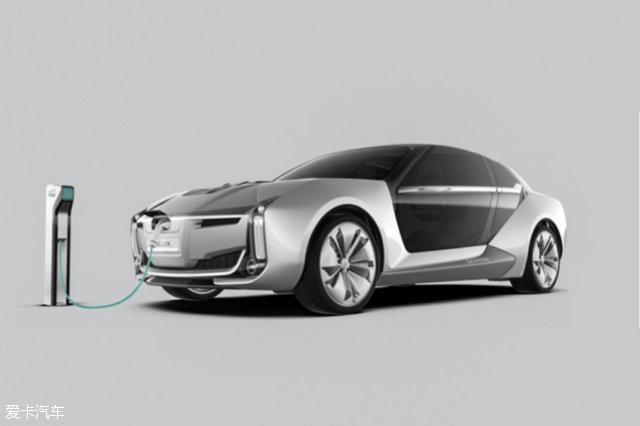 2017上海车展;静评;实拍;观致Model K-EV