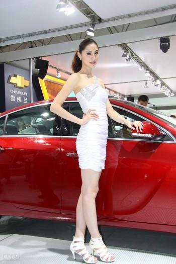 美女车模图片 汽车图片大全 竖