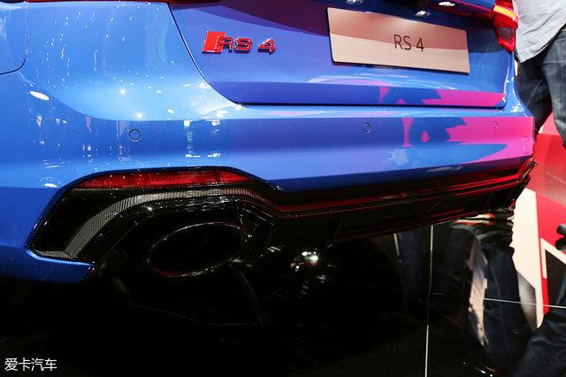 2017法兰克福车展;静评;实拍;奥迪RS4 Avant