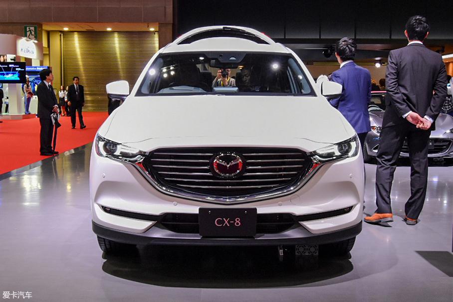 2017东京车展 马自达CX-8静态评测