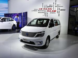 广州车展菱智M5 EV