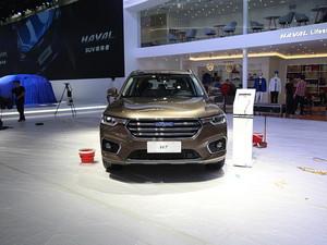 广州车展哈弗H7