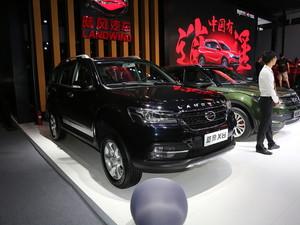 广州车展陆风X8