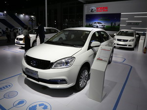 广州车展长城C30 EV