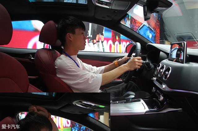 17广州车展 起亚斯汀格爱卡实拍体验