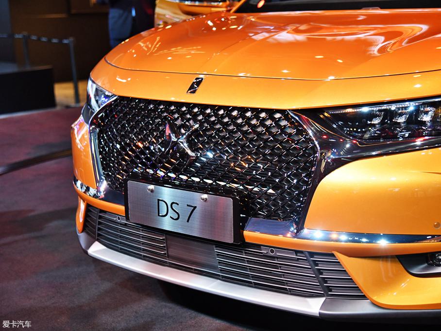 2017广州车展;静评;实拍;DS;DS 7