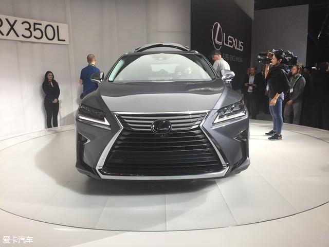 2017洛杉矶车展:雷克萨斯RX 7座版静评