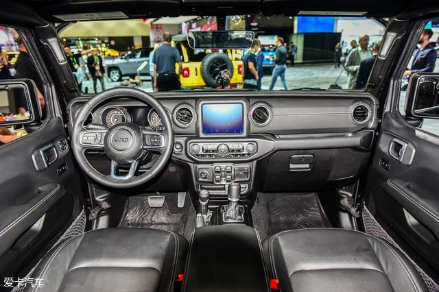 2017洛杉矶车展 jeep牧马人静态评测