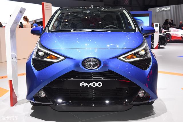 2018日内瓦车型;2018日内瓦车展-静态评测;丰田Aygo