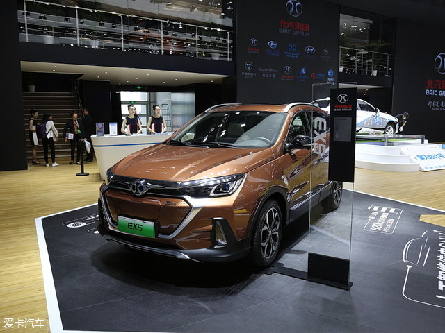 北汽新能源2018款北汽EX5