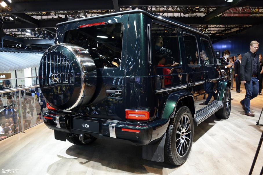 2018北京车展;静评;实拍;奔驰G500