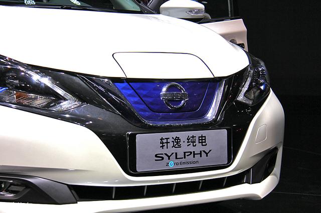 2018北京车展;实拍;电动版轩逸
