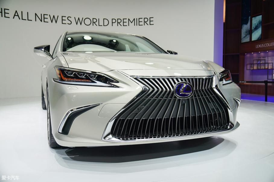 2018北京车展;静评;实拍;雷克萨斯全新ES