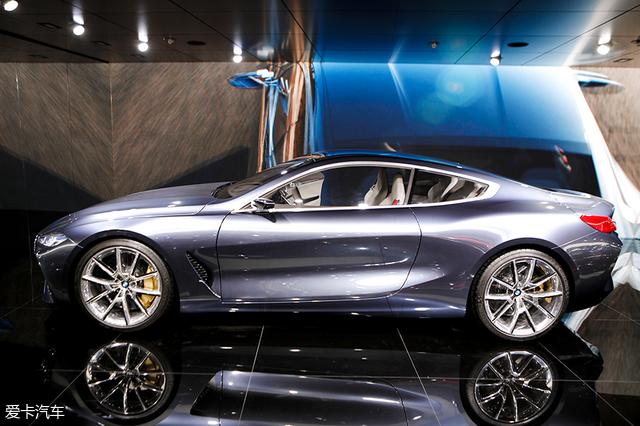 2018北京车展;实拍;8系concept概念车