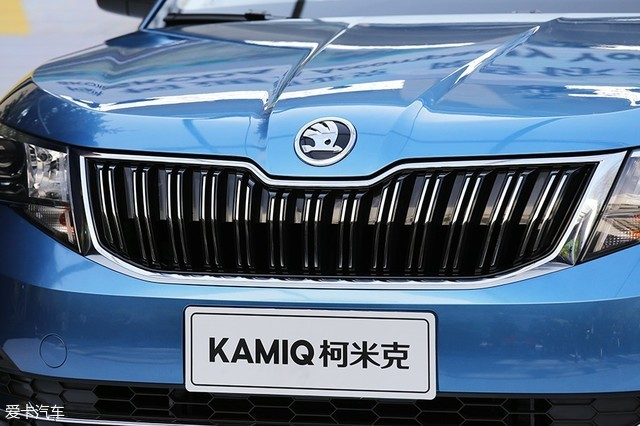2018北京车展,静评,实拍,上汽斯柯达,柯米克