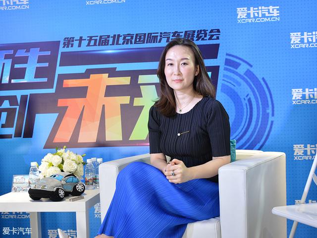 东风标致汽车市场部部长赵丹丹