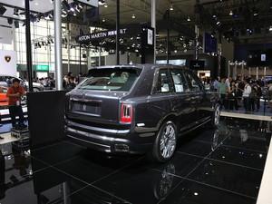 2019款库里南 上海车展