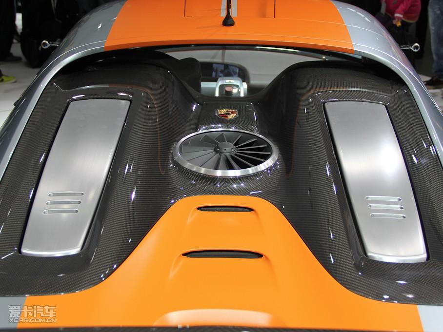 2011款保时捷918 高清图片