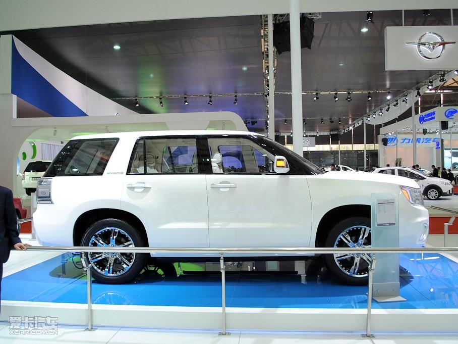 北京汽车制造厂概念车2011年上海车展