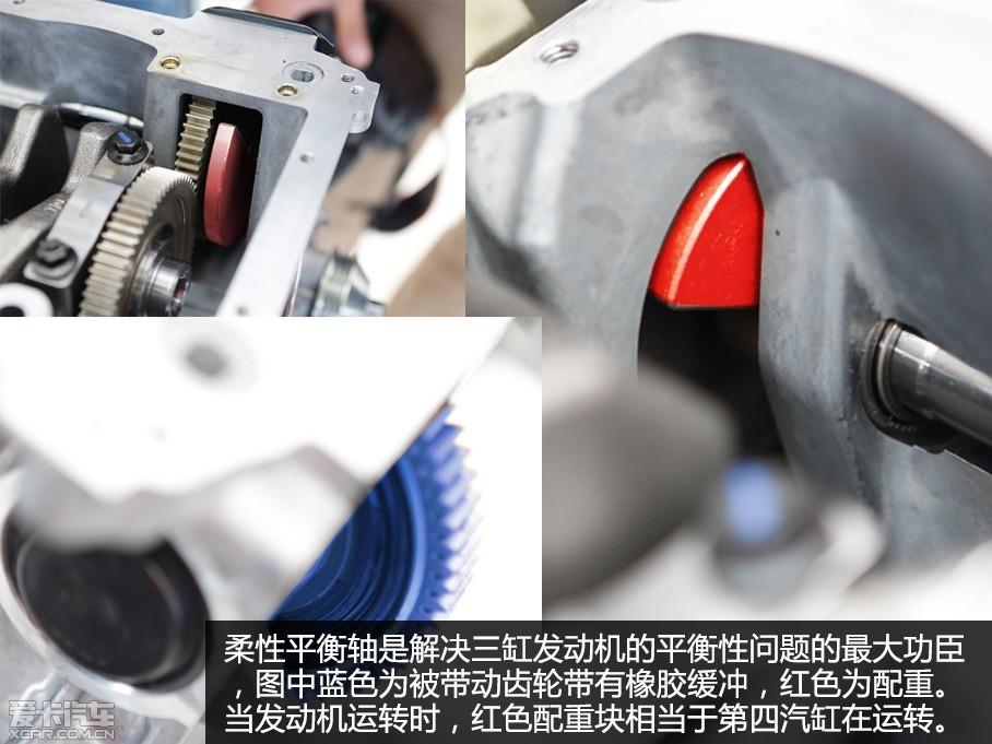 解析标致1.2T发动机高清图片