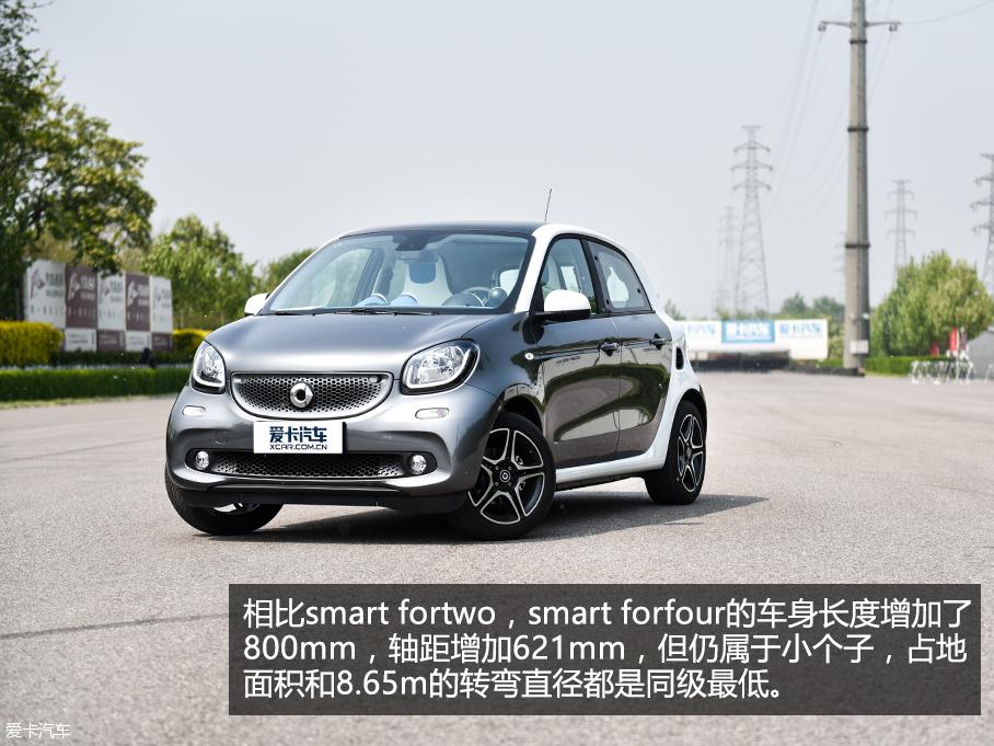 smart forfour测试