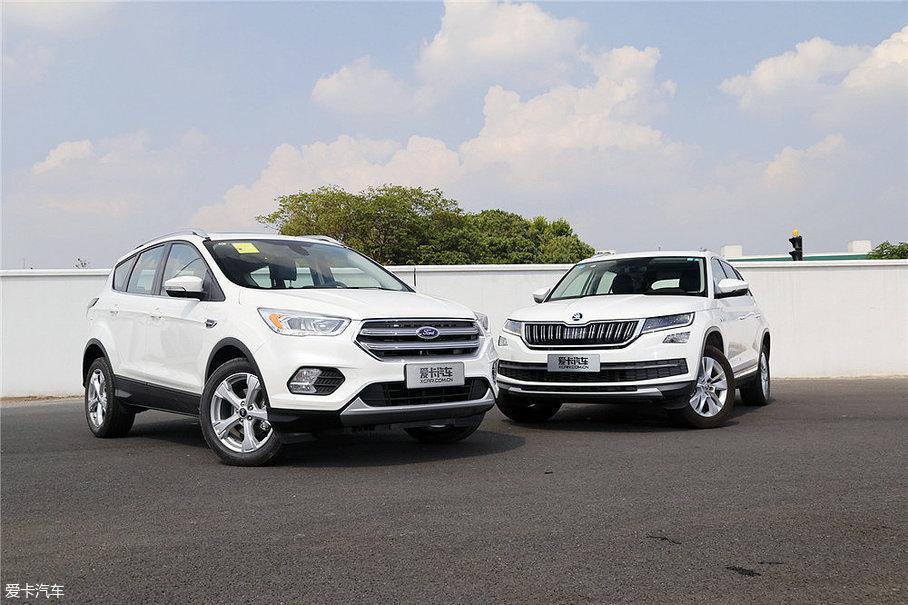 对比的两款车型是目前SUV市场较为热门的SUV车型,翼虎一直是该级别的热销车,而柯迪亚克今年上海车展期间刚刚上市发布。