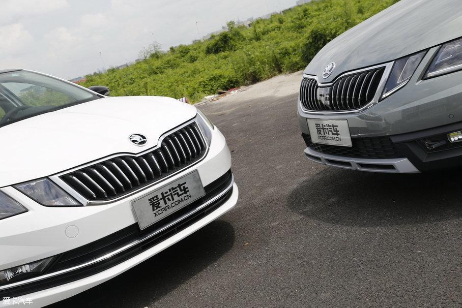 外观上,两车大体一致,但在一些细节方面还是有所区别的,毕竟这两台车是想要打造不同的生活调性。在车头的下方,明锐旅行车拥有更加粗狂的保险杠下沿,而新明锐则更多的偏向城市风格取向。