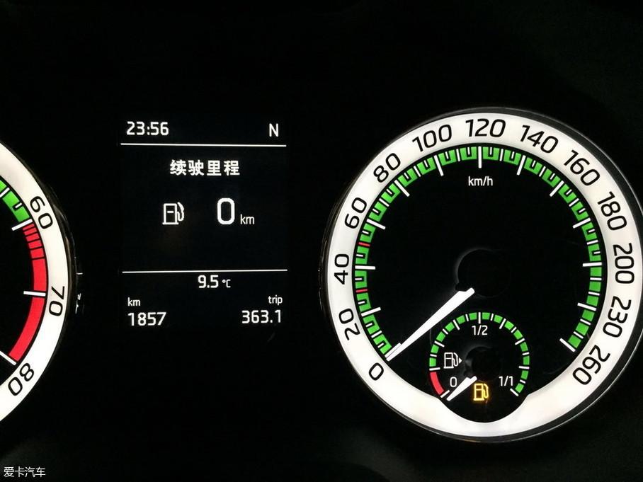 明锐1000km油耗测试
