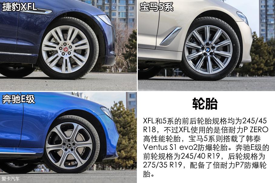 XFL/5系/E级对比