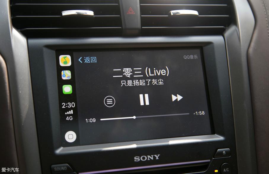 为了让旅途不再单调,听上几首自己喜欢的音乐,不失为一个好主意,SYNC 3车载系统提供CarPlay、车载蓝牙等众多功能,让驾驶者使用起来更加便捷。