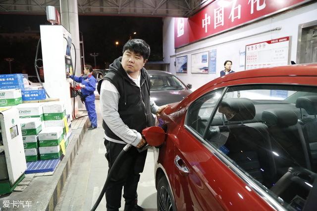朗逸油耗测试