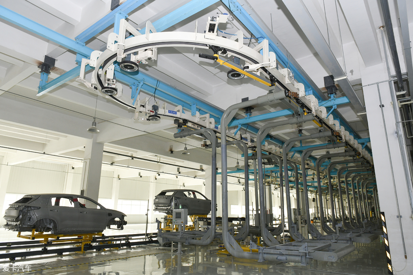 参观海马智能工厂