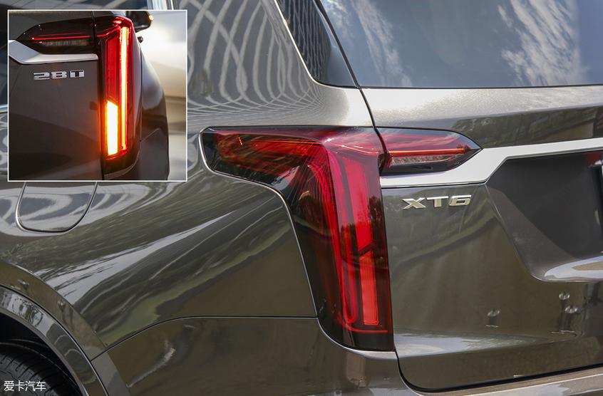 豪华中大型SUV凯迪拉克XT6